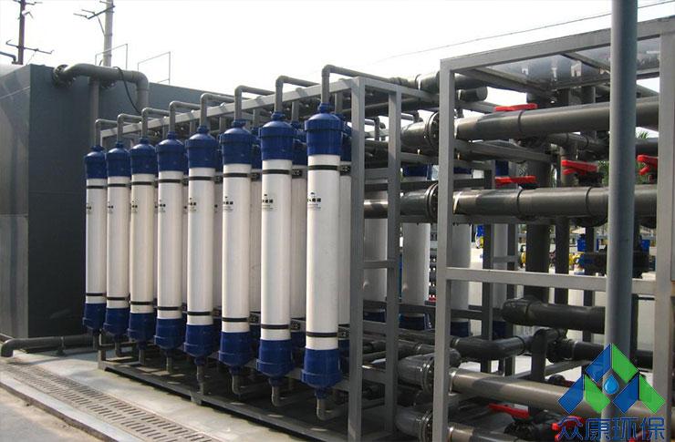 污水回用设备工艺流程