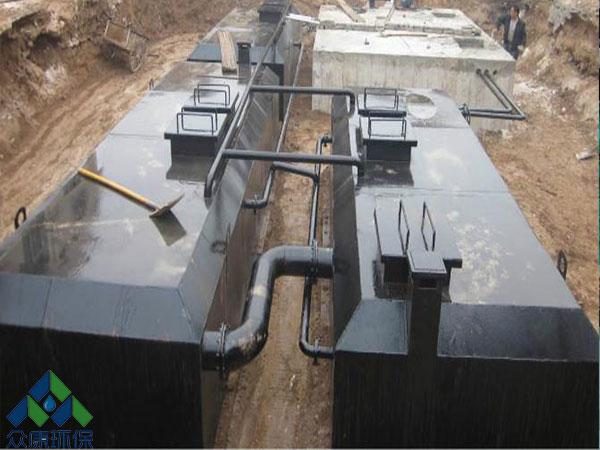 广州花都某小区50立方生活污水处理案例!